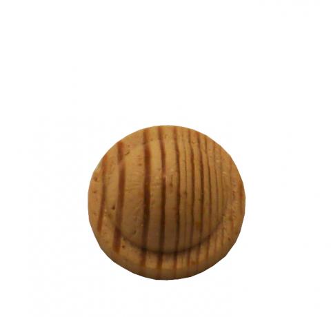 Holzrosette Buche Durchmesser 13 mm