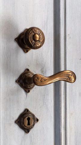 Schlüsselrosette  Länge 45 mm Breite 45 mm