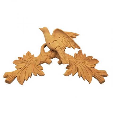 Holzkrone Kuckucksuhren Linde 350 x 200 mm Artikel 1352