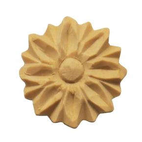 Holzteil geschnitzt Linde Durchmesser 30mm