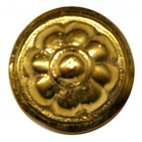 Zierteil für Uhren Messingguss Durchmesser 21mm