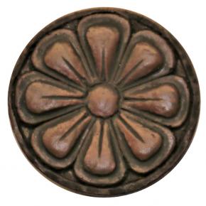 Zierteil Spezialmasse Nussbaum rötlich Durchmesser 45mm