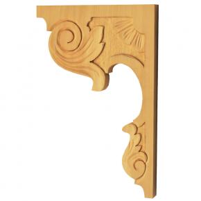 Holzauflage Linde 160x230 mm