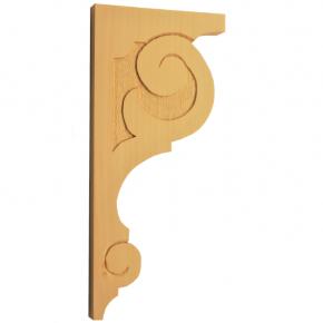 Holzauflage - 2 Holzarten verfügbar - 130x280 mm