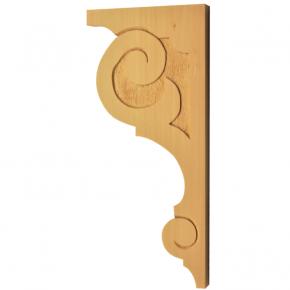 Holzauflage - 2 Holzarten verfügbar - 130x 280 mm