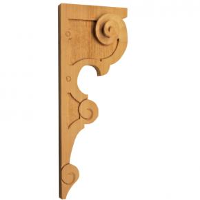 Holzauflage aus Linde 115 x 310mm
