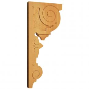 Holzauflage aus Linde 130 x 290mm