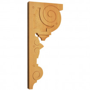 Holzauflage Linde 130x290 mm