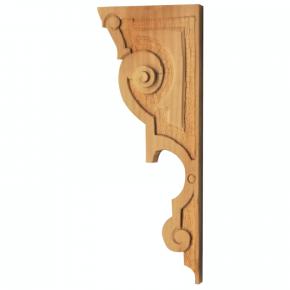 Holzauflage aus Linde 100x245 mm