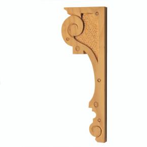 Holzauflage aus Linde 75 x 215mm