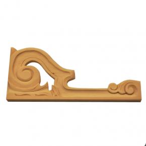 Holzauflage Linde 135x285 mm