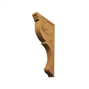 Holzauflage Linde 326x35x170 mm