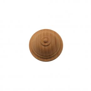 Holzrosette Tanne Buche Eiche Durchmesser 40mm