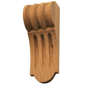 Holzauflage - 2 Holzarten verfügbar - 40 x 115mm