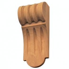 Holzauflage - 2 Holzarten verfügbar - 50 x 125mm