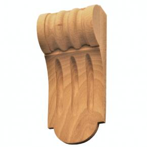 Holzauflage Tanne Buche 60 x 140mm