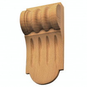 Holzauflage - 2 Holzarten verfügbar - 80 x 170mm