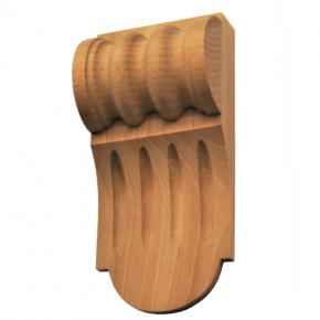 Holzauflage - 3 Holzarten verfügbar -75 x 160mm