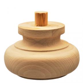 Holzfuß Durchmesser 120mm Länge 75mm
