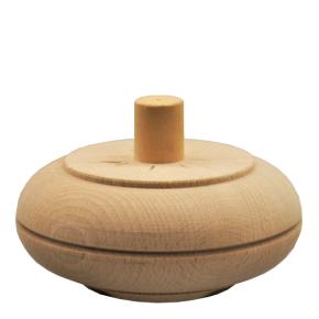 Holzfuß - 2 Holzarten verfügbar - Durchmesser 115 x Länge 50 mm Artikel 107328