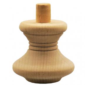 Holzfuß Durchmesser 85mm Länge 80mm