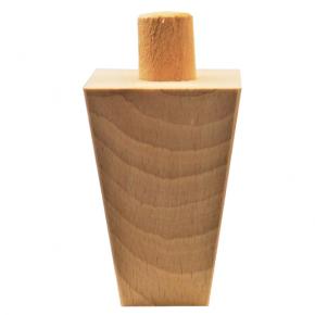 Holzfuß - 2 Holzarten erhältlich - Breite 55 mm Länge 80 mm