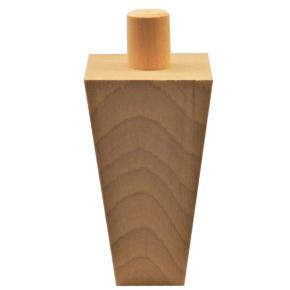 Holzfuß - 2 Holzarten verfügbar - Breite 60 mm Länge 105 mm