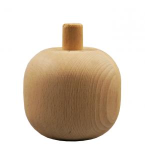 Holzfuß Durchmesser 95mm Länge 85mm