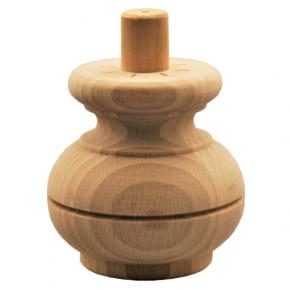 Holzfuß Durchmesser 85mm Länge 85mm
