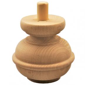 Holzfuß Durchmesser 115mm Länge 110mm