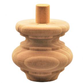 Holzfuß in Durchmesser 85mm Länge 80mm