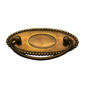 Griffschild Messingblech 100 x 40mm