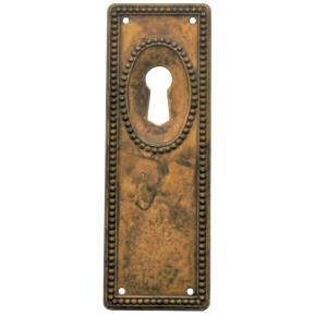 Schlüsselschild Messing 33 x 96mm