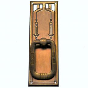 Griffschild Messingblech 35 x 95mm