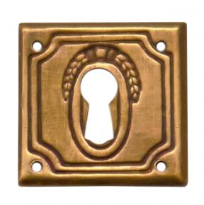 Griffschild Messingblech 30 x 30mm