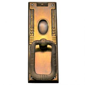Griffschild Messingblech 30 x 93mm