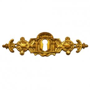 Schlüsselschild Messingguss 100 x 30mm
