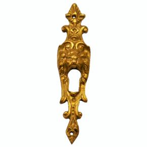 Schlüsselschild Messingguss 25 x 105mm