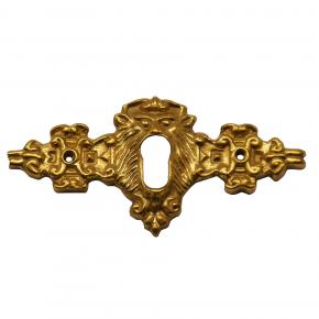 Schlüsselschild Messingguss 80 x 35mm