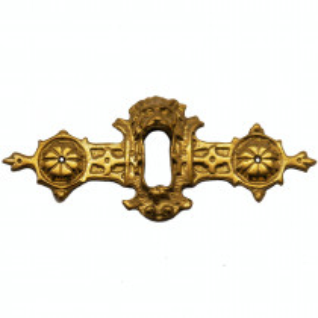 Schlüsselschild 90 x 35mm Messingguss