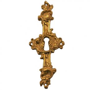 Schlüsselschild Messingguss 40 x 105mm