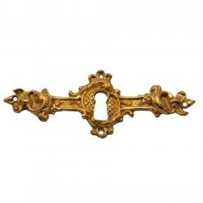 Schlüsselschild Messingguss 105 x 40mm