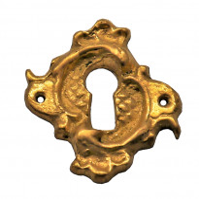 Schlüsselschild messingguss 30 x 30mm