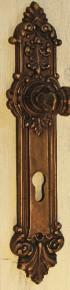 Drückerschild Türschild Profilzylinder PZ 72mm Artikel 23386