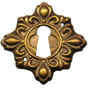 Schlüsselschild Messingblech 30 x 30mm