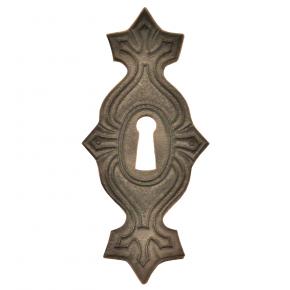 Schlüsselschild aus Leder 40 x 90mm