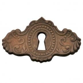 Schlüsselschild aus Leder 80 x 46mm