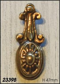 Schlüssellochabdeckung nur für buntbart BB 47mm Artikel 23398