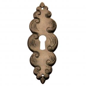 Schlüsselschild Eisen antik 33 x 95mm