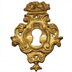 Schlüsselschild Messingguss 50 x 75mm